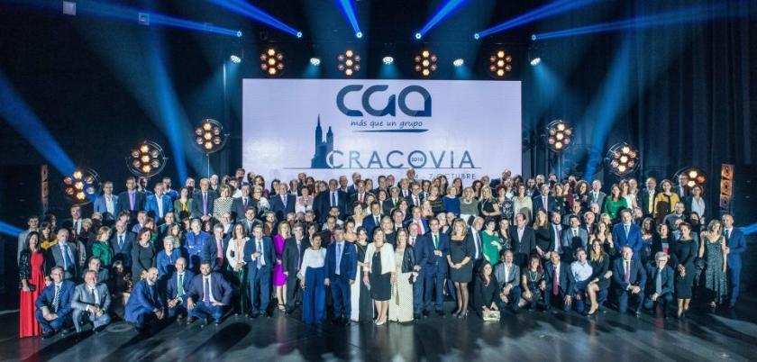 Grupo CGA celebra su 9º Congreso en Cracovia
