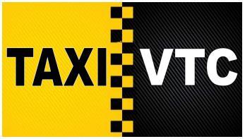 Los taxis y VTC llevarán matrículas azules