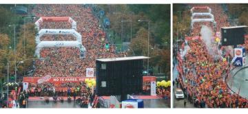 Grupo CGA, presente en los diez años de la carrera Ponle Freno en Madrid