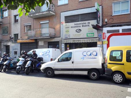 Industriales de Recambios Madrid