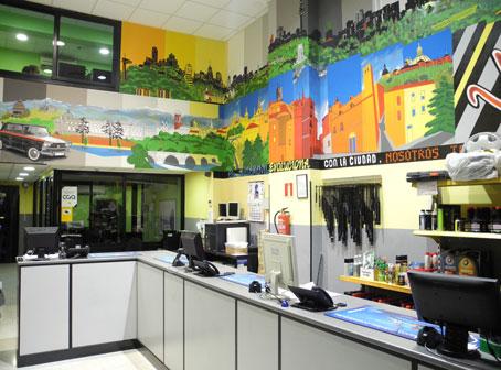 Presentaci n de la empresa industriales madrid tienda de recambios en madrid grupo cga - Empresas domotica madrid ...